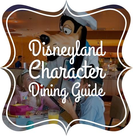 disneyland character breakfast dining guide