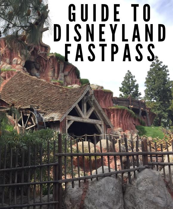 disneyland fastpass guide