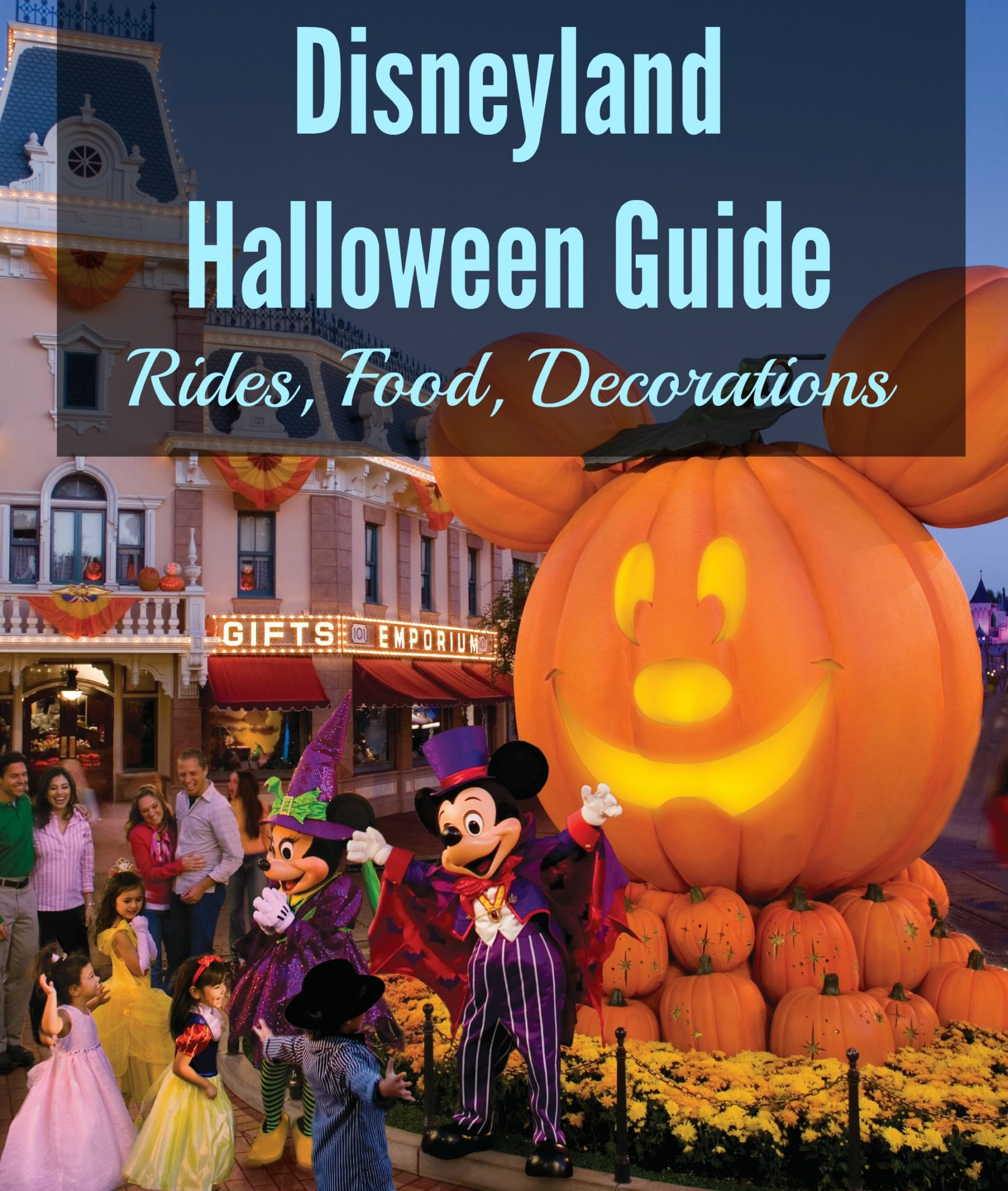2020 Halloween Disneyland And California Adventure Foodie Map Disneyland Halloween 2020 Guide: Rides, Food, Decorations