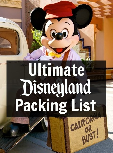 f0fde430987 Ultimate Disneyland Packing List and What to Wear to Disneyland