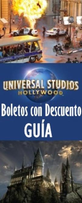 Boletos Para Universal Studios Con Descuento