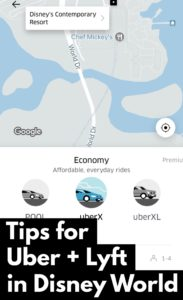 How to Use Lyft and Uber Disney World Guide + Disney's New