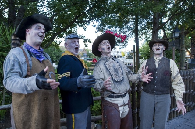 The Cadaver Dans Barbershop Quartet at Mickey's Not-So-Scary Halloween Party