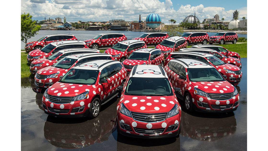 Minnie Vans Walt Disney World Transportation