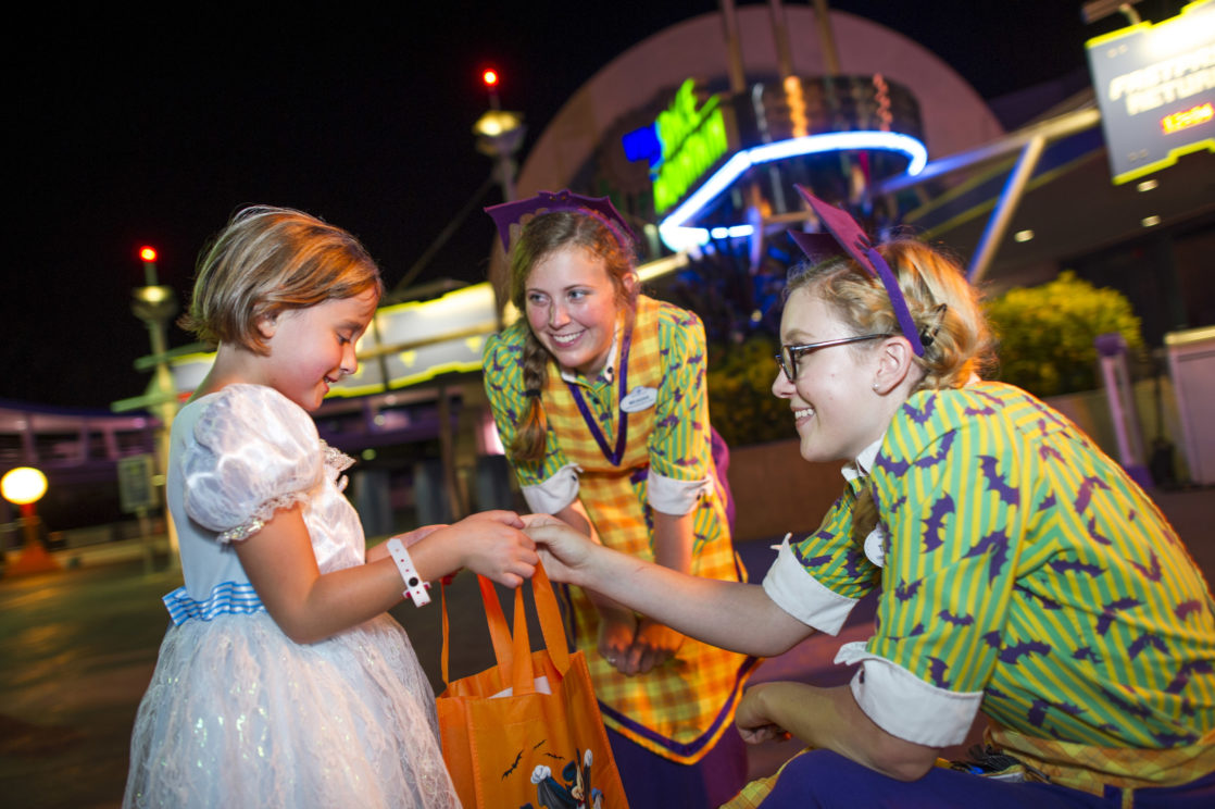 Trick-or-Treating at Mickey's Not-So-Scary Halloween Party