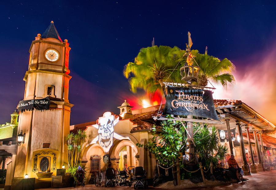 Pirates of the Caribbean Ride at Mickey's Not-So-Scary Halloween Party