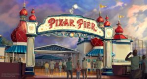 Pixar Pier is the new addition to Disney's California Adventure Park during the summer.