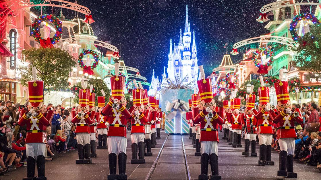 Mickey's Very Merry Christmas Parade through Main Street