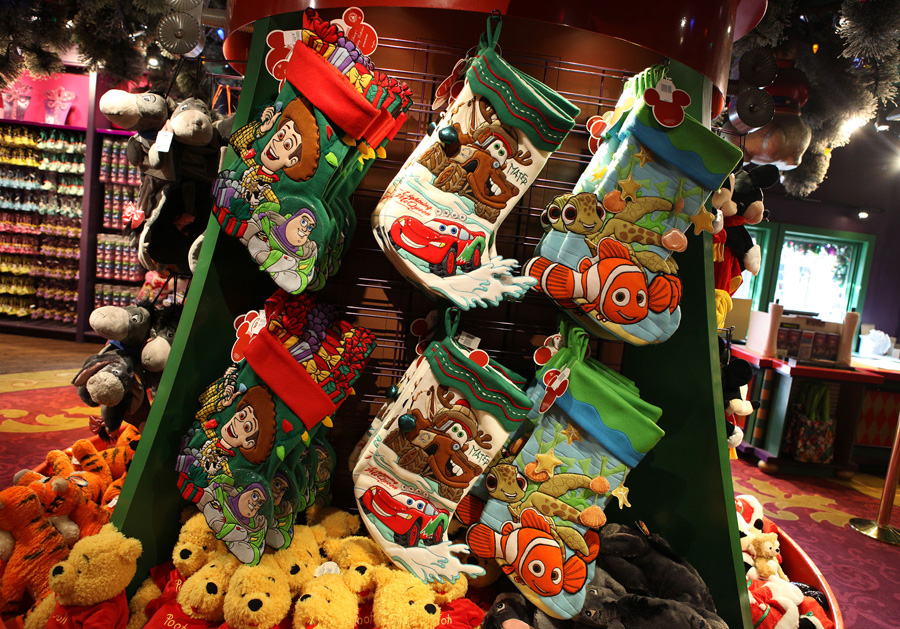 Christmas Merchandise for the Christmas Party.