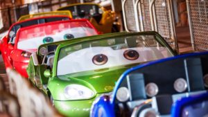 Radiator Springs Racers is the perfect combination of fun and excitement for all ages and is a must on our Disney California Adventure ride and attraction guide.