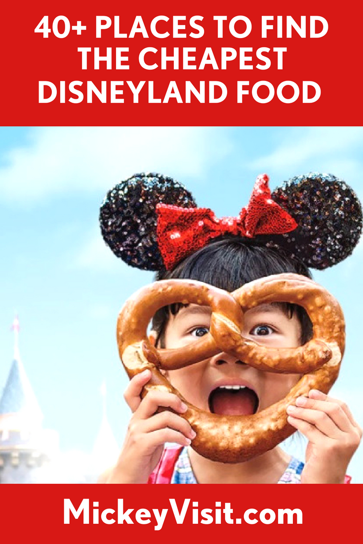 Disneyland's Cheapest Food Finds