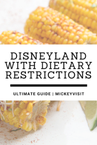Ultimate Guide to navigate Disneyland with Dietary Restrictions