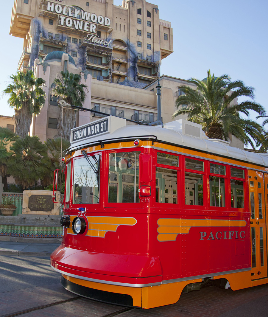 Red Trolley Car is a staple attraction in Disney's California Adventure Park.