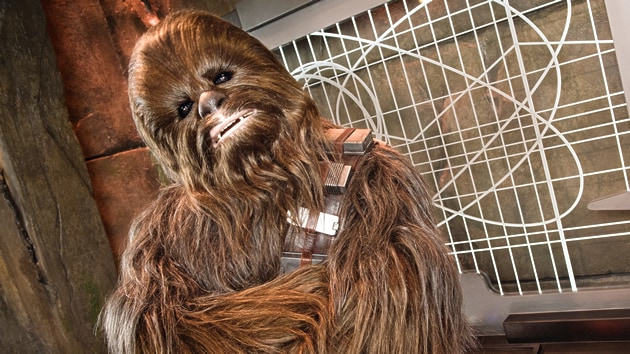 Chewbacca in Tomorrowland