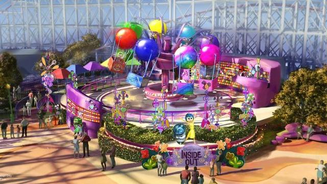 Inside Out ride