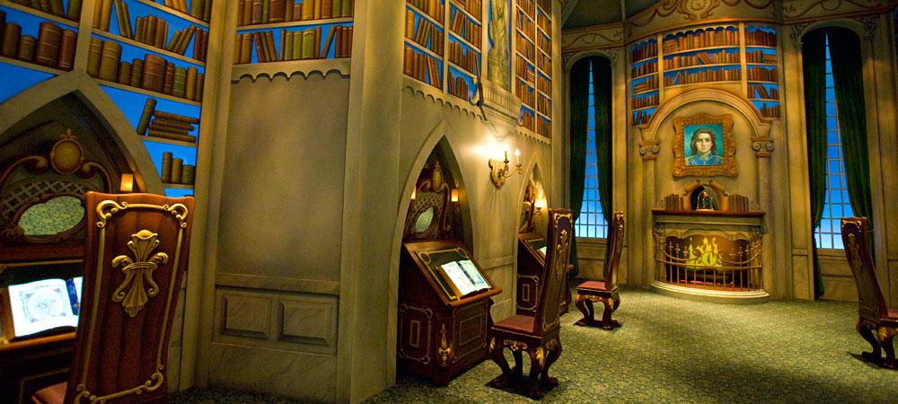 Inside of Sorcerer's Workshop at CA