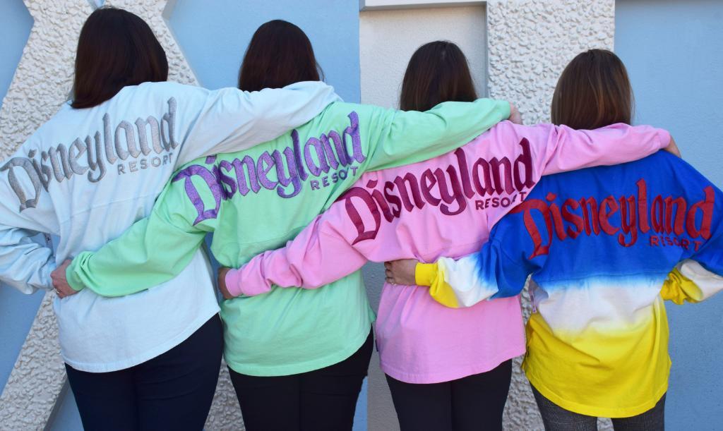 Backs of Disney spirit jersey