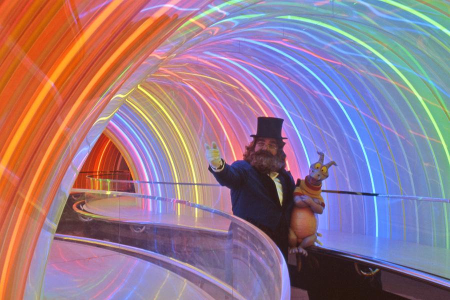 Journey into Imagination ride