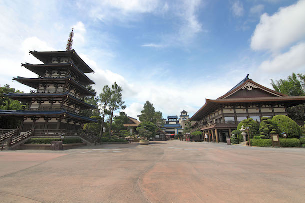 The Japan country in the World Showcase