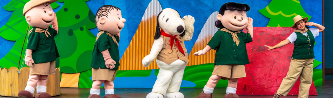 Snoopy stage show