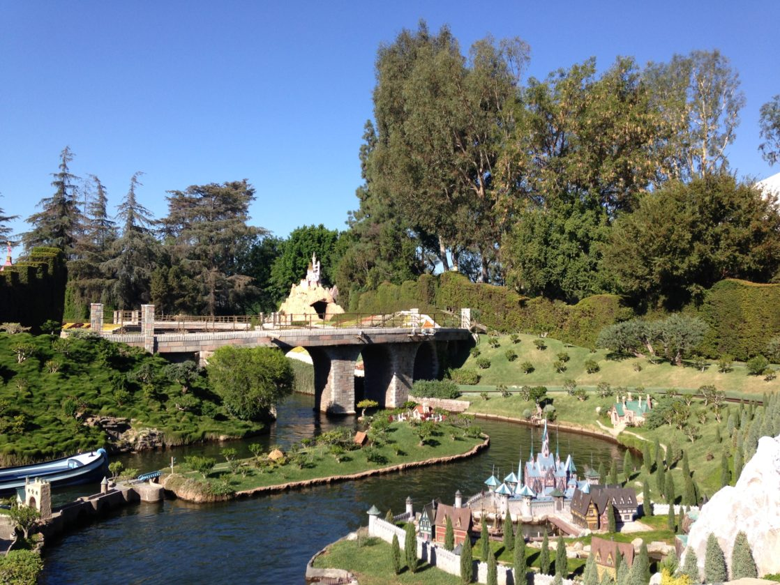 View of Storybook Land Canal from above