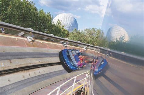 Test Track Pavilion ride