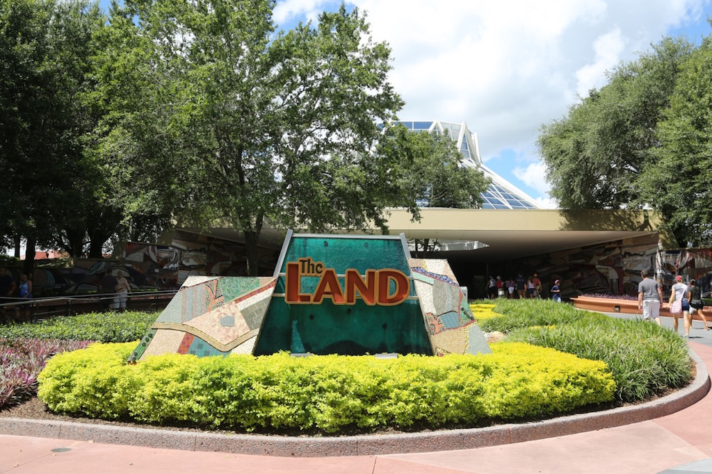 Living with the Land attraction