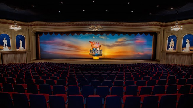 Indoor theater in the World Showcase