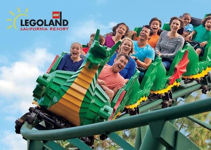 Sea Dragon roller coaster