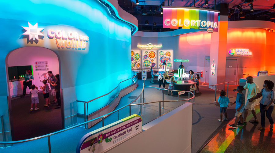 Colortopia indoor attraction