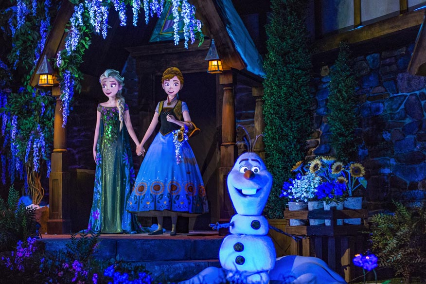 Frozen Ever After- Disney World in February