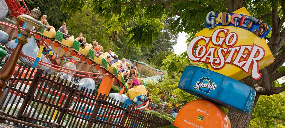 Disneylan'd height requirements: gadget go coaster