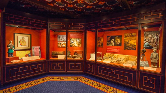 House of Whispering Willows indoor attraction