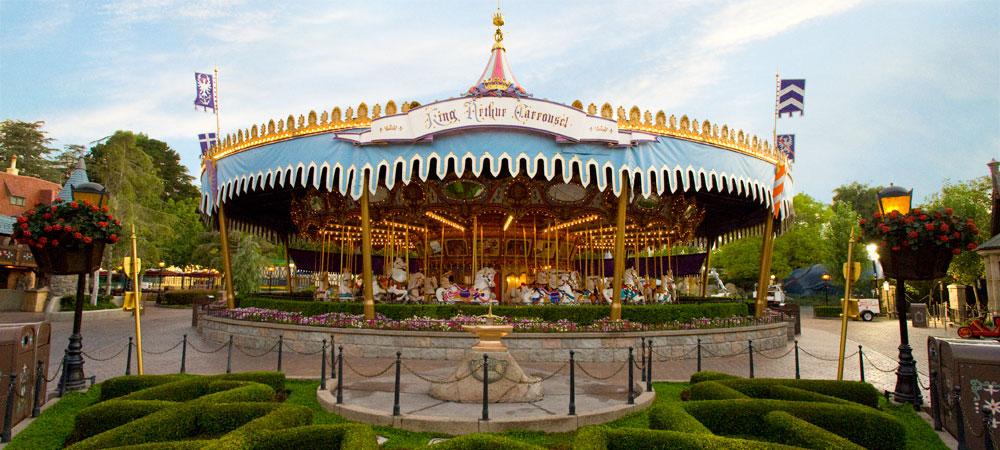 King Arthur's carousel