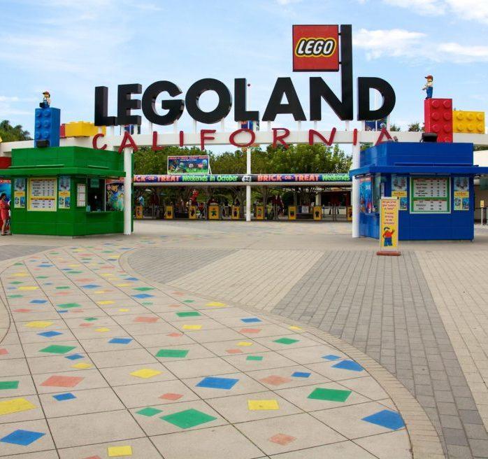 Front of Legoland Entrance