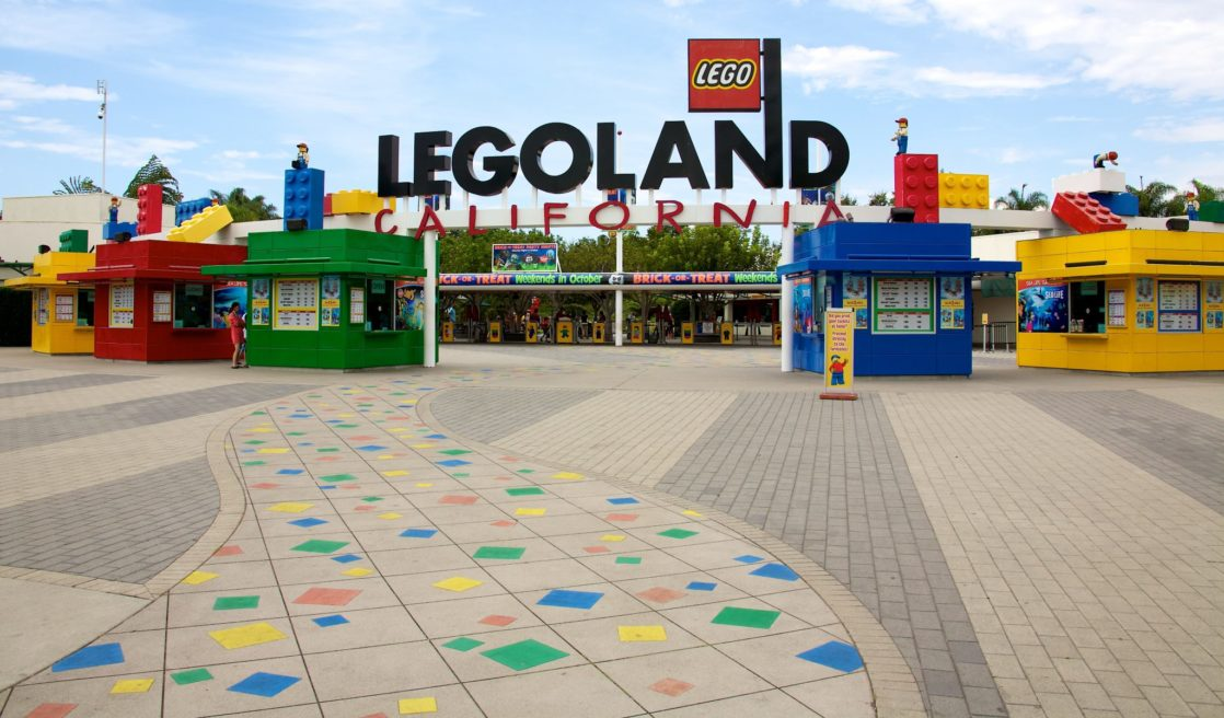 Legoland tickets at front gate