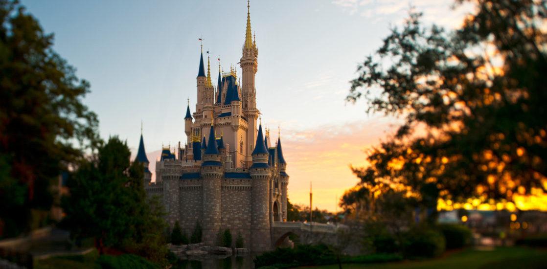 Cinderella Castle set against the sky