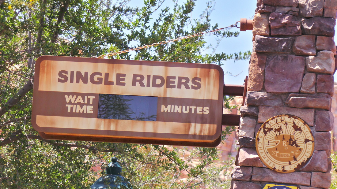 Single Rider line at Grizzly River Run