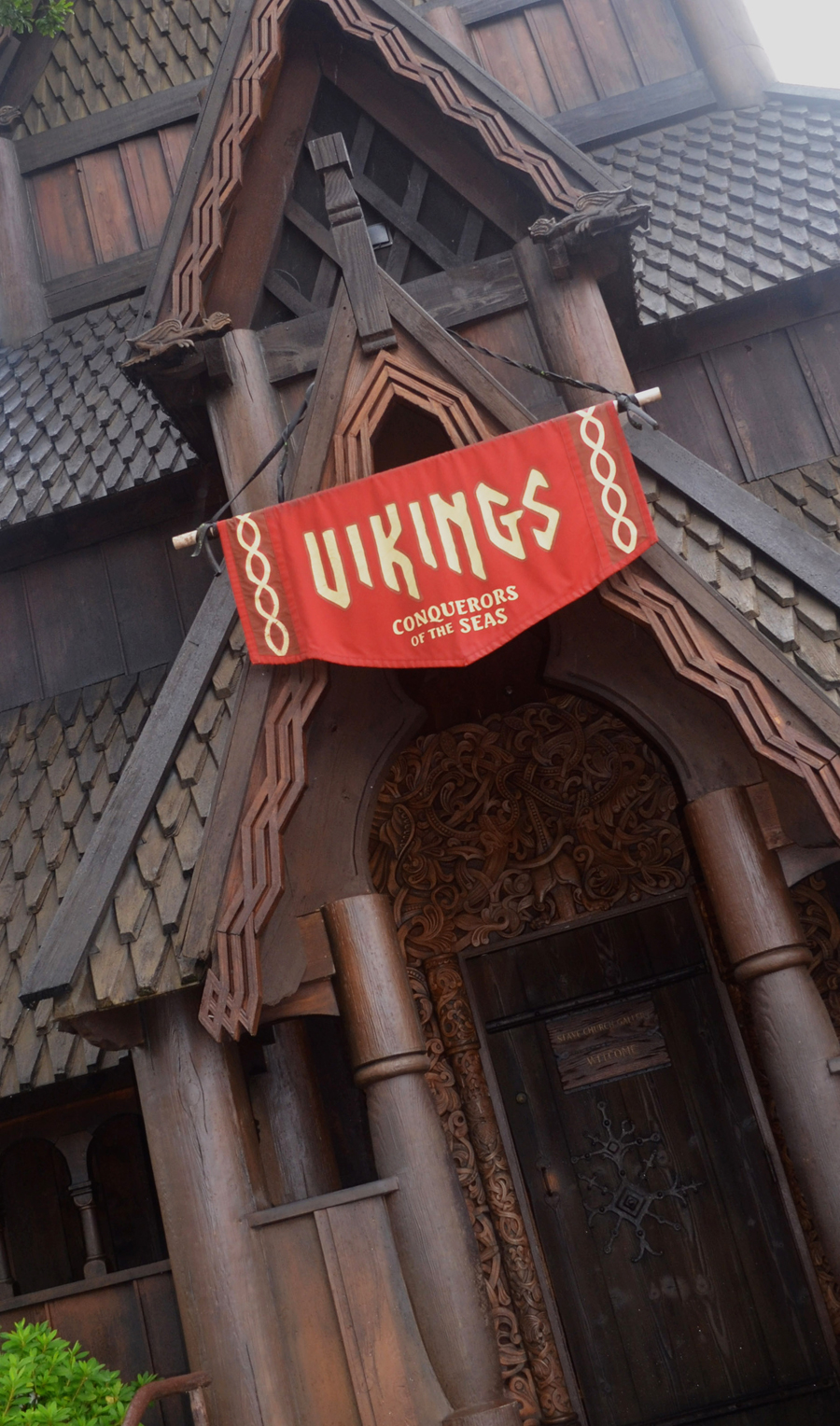 Outside of Vikings attraction