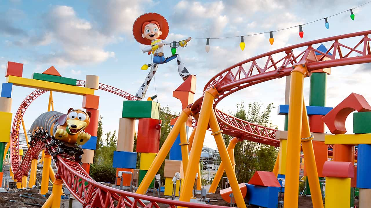 Slinky Dog Dash at Toy Story Land - Disney World in March