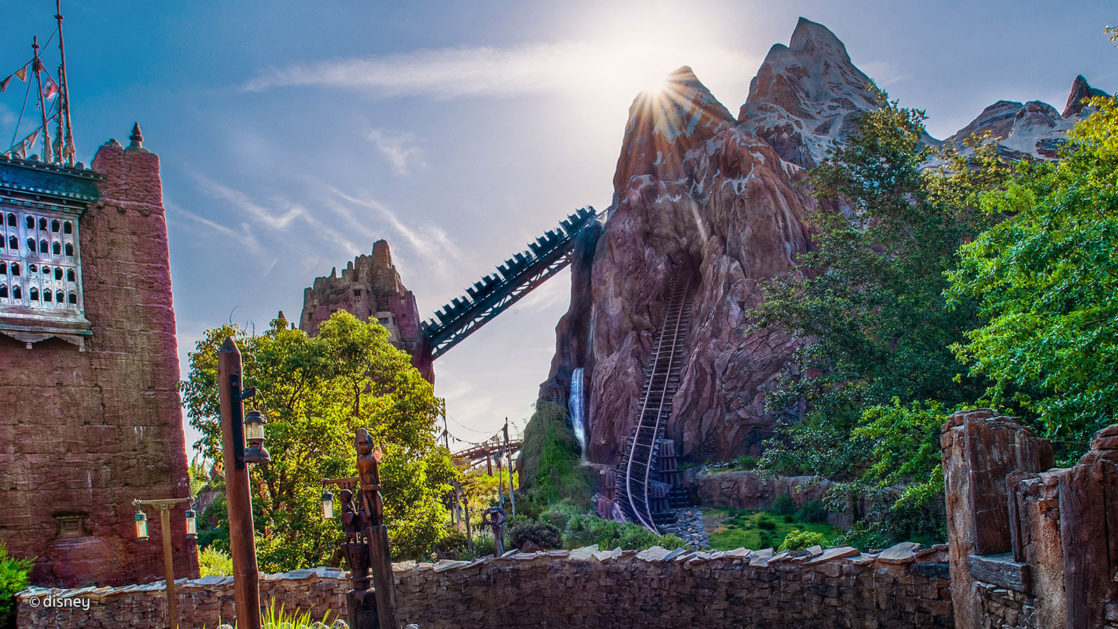 Everest attraction at Walt Disney World