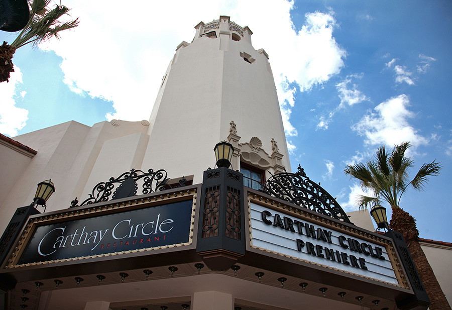 Outside of Carthay Circle