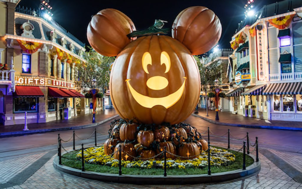 Disneyland Halloween Pumpkin