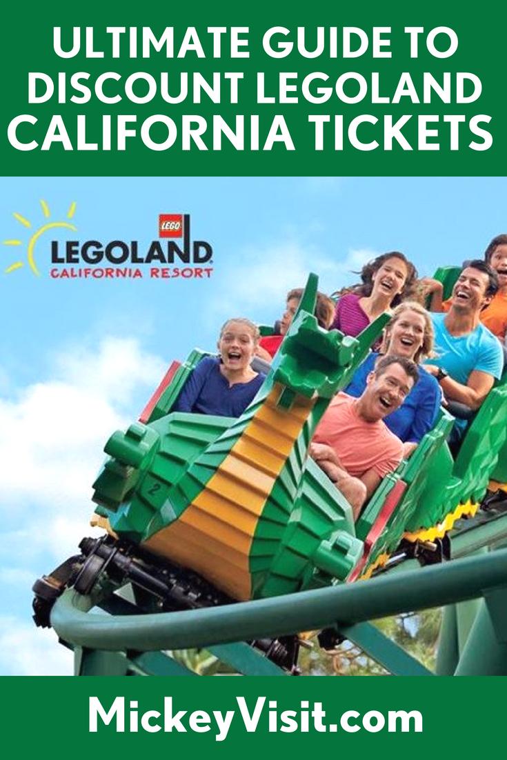Legoland discount tickets