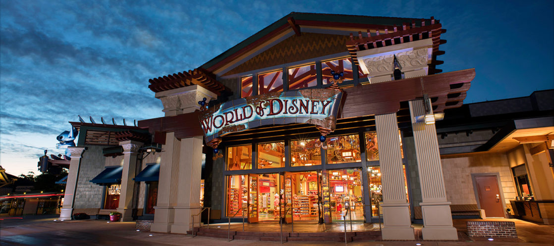 World of Disney store front