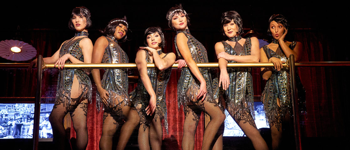 Edison Flappers on stage
