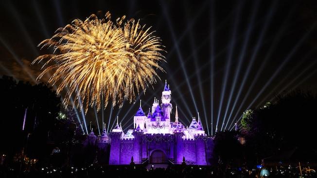 Believe in Hoiday magic fireworks