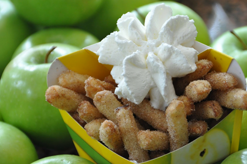 Close up of Granny Apple Fries