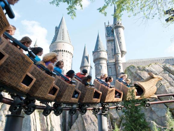 Harry Potter ride
