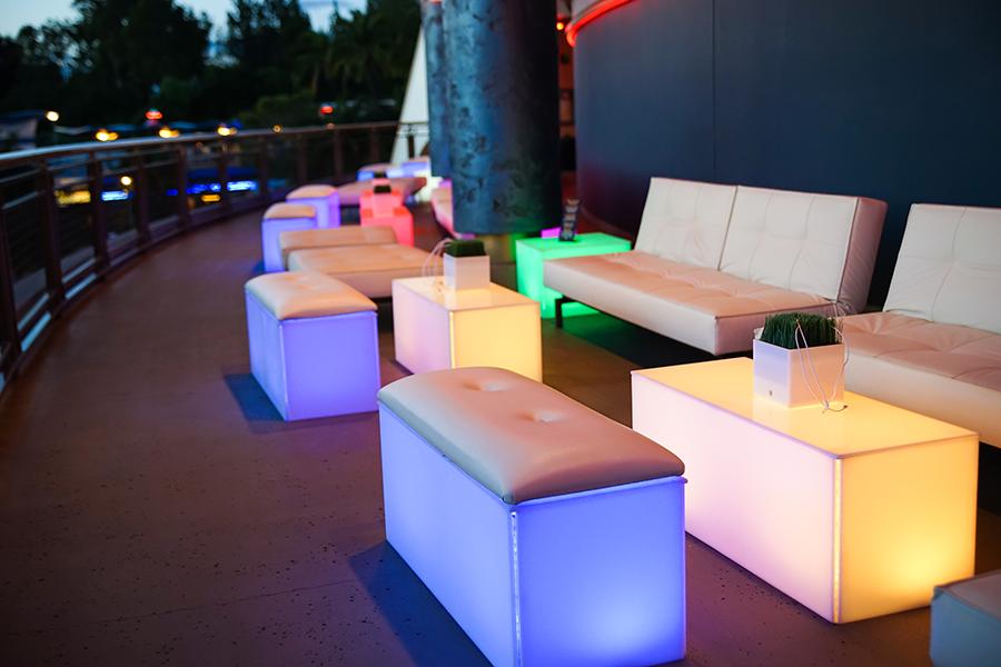 Tomorrowland lounge